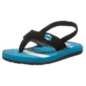 Quiksilver-FOUNDATION-CUSH-2-Flip-Flop-(Toddler)-Blue-Black-White