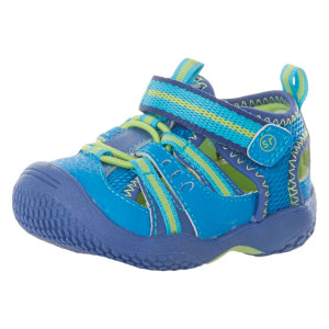 Stride Rite Baby Riff Water Sandal Blue-Green