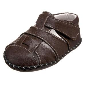 pediped-Originals-Harvey-Sandal-(Infant)-Chocolate-Brown-profile