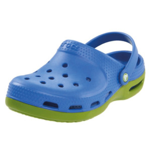 Crocs-Duet-Plus-Mule-(Toddler-Little-Kid)-parrot-green