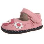 pediped-Originals-Sadie-Mary-Jane-Crib-Shoe-(Infant)-pink