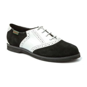 Bass-Women's-Enfield-Oxford-black-white