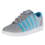 K-Swiss 201 Classic Tennis Shoe (Infant-Toddler)-storm-blue-white