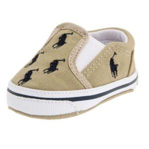Ralph-Lauren-Layette-Bal-Harbour-Repeat-Slip-On-(Infant-Toddler)-khaki