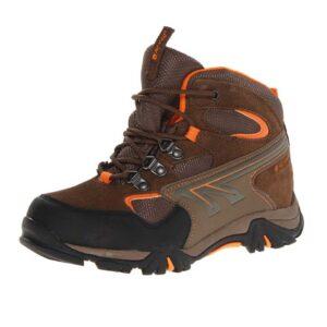 Hi-Tec-Kid's-Nepal-Waterproof-Junior-Hiking-Boot-(Toddler-Little-Kid-Big-Kid)-brown-taupe-clementine
