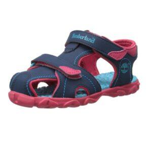 Timberland-Splashtown-Closed-Toe-Sandal-(Toddler-Little-Kid-Big-Kid)-hot-pink-blue