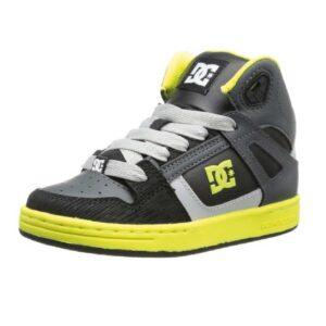 DC-Rebound-SE-Skate-Sneaker-(Little-Kid-Big-Kid)-black-yellow
