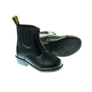 Saxon-Equileather-Zip-Up-Paddock-Boot