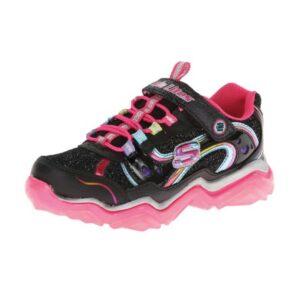 Skechers-Kids-Magic-Lites-Kazam-Sneaker-(Little-Kid)-multi-black