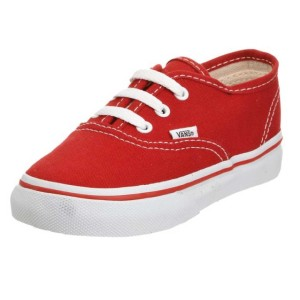 Vans-Authentic-(Toddler-Youth)-red